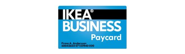 IKEA BUSINESS Paycard