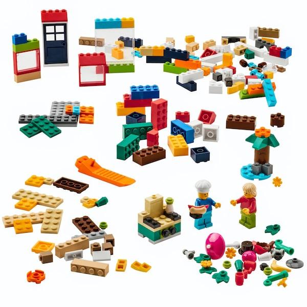 IKEA BYGGLEK. IKEA ja LEGO tekivät yhteystyötä, ja niin syntyi IKEA legosetti, BYGGLEK.