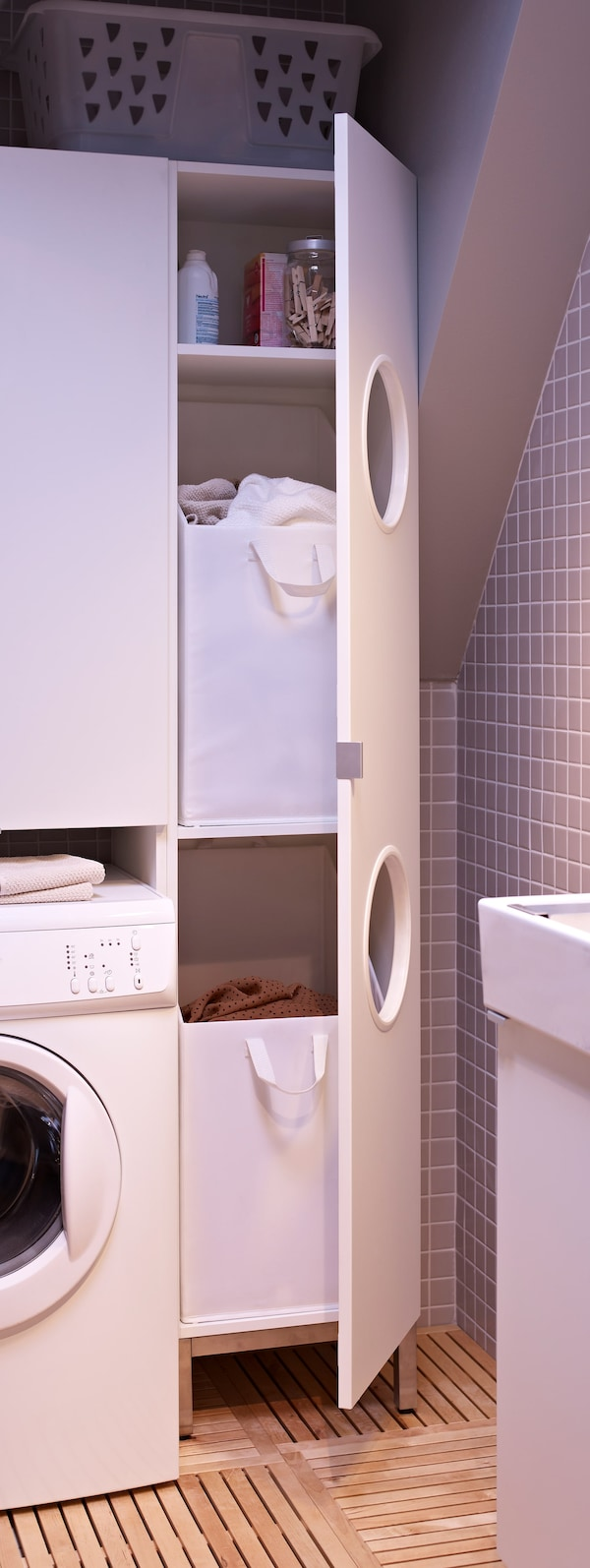 Bathroom and laundry room in one   IKEA