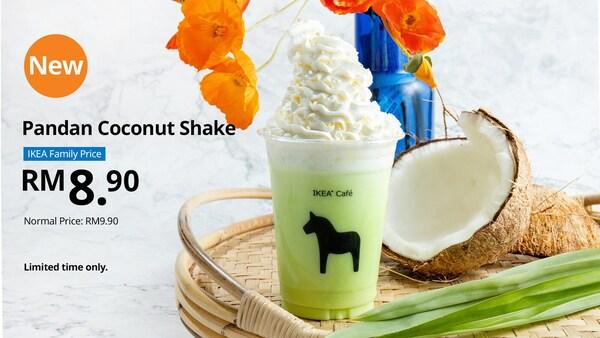IKEA CAFÉ Pandan Coconut Shake