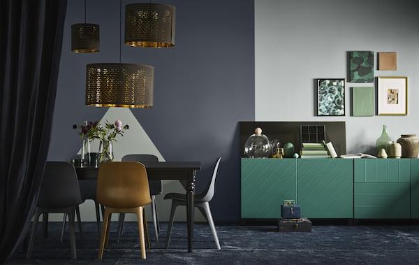 Dark Home Decor Tips For Lightness Too Ikea