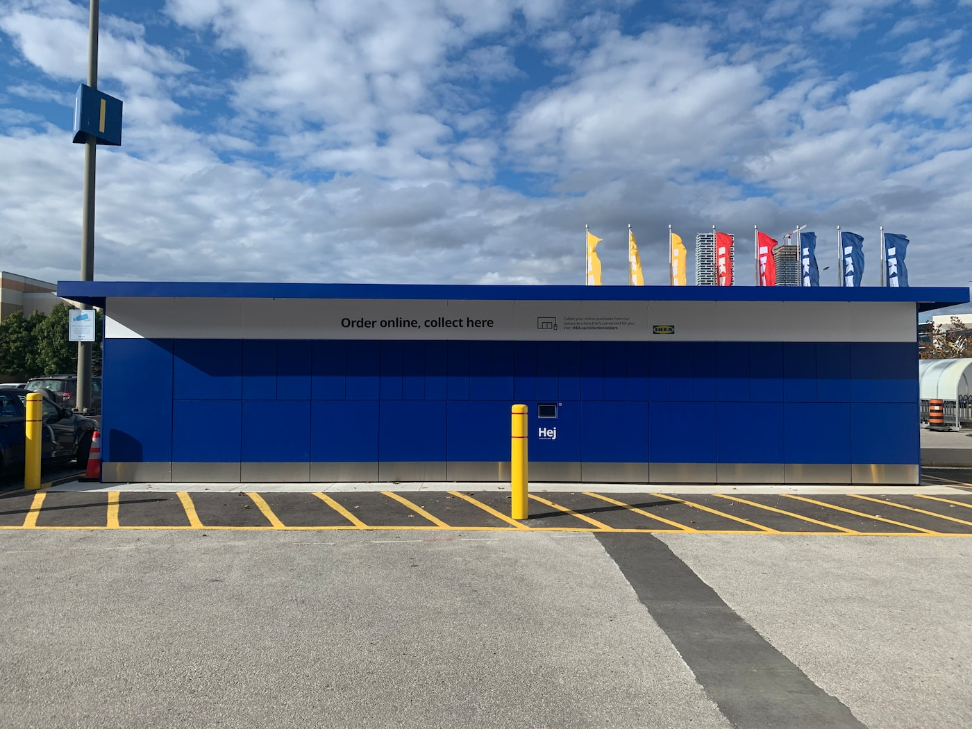 IKEA Canada launches 24/7 accessible Collection Lockers at GTA stores.