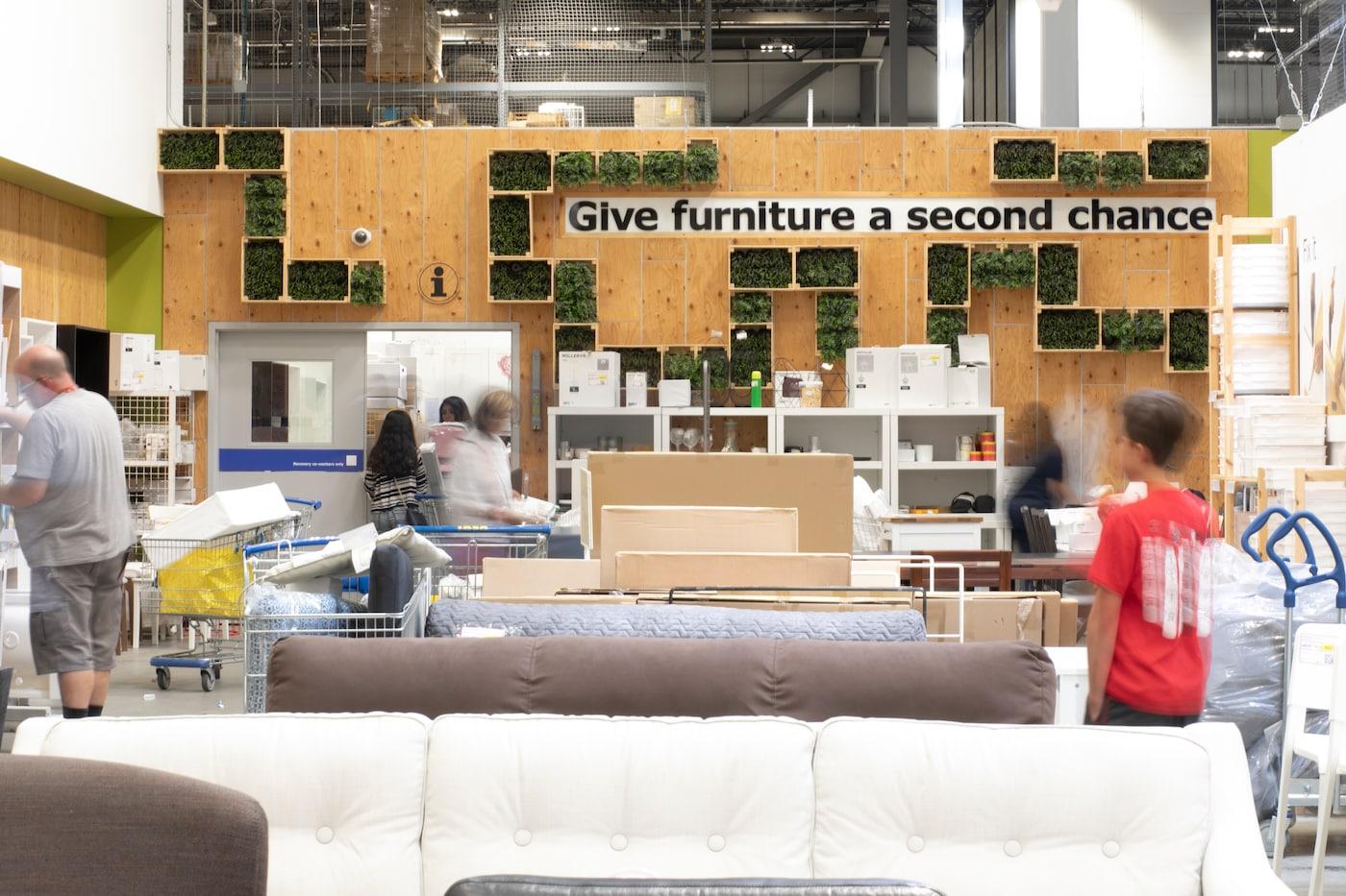 IKEA Canada's sell back program.