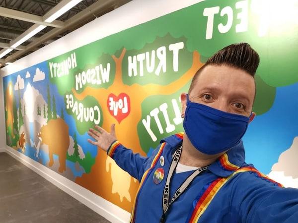 IKEA Edmonton creates Indigenous Mural