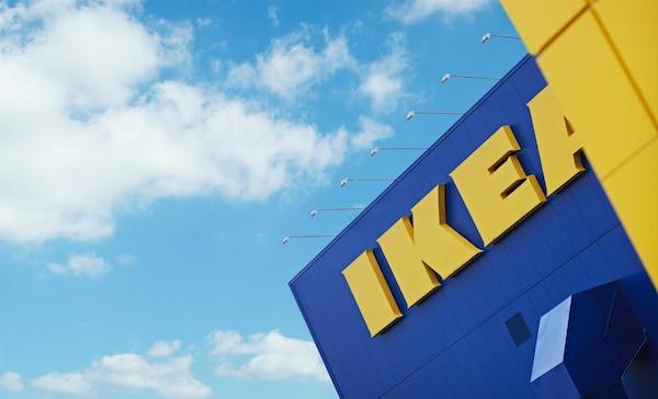 IKEA Einrichtungshaus von außen