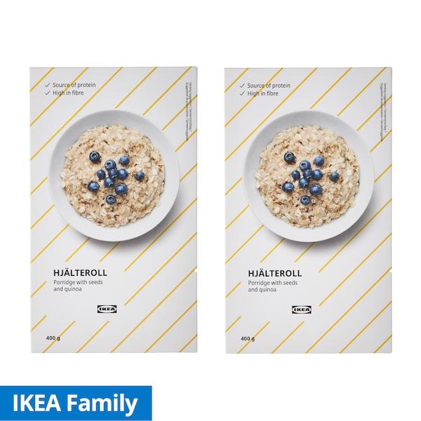 IKEA Family 2box  Porridge with Seeds & Quinoa 400g