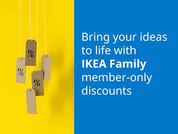 IKEA Family member-only discounts
