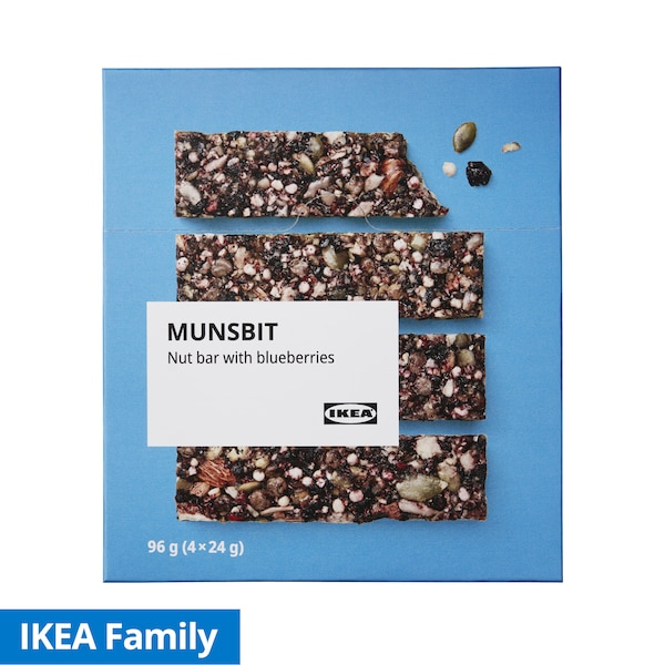 IKEA Family Nut Bar with Blueberries