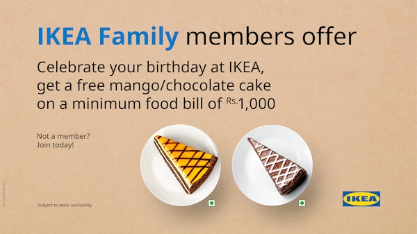 IKEA family offer on desserts