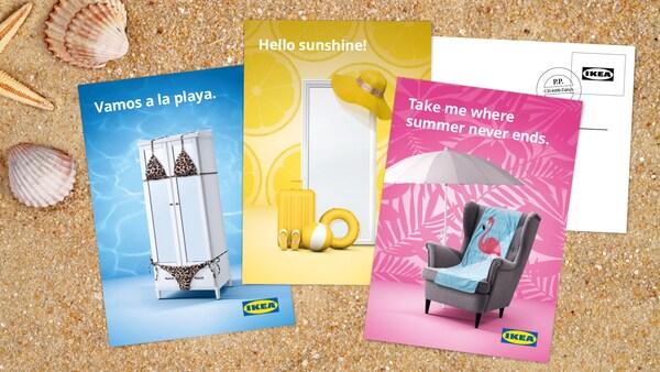 IKEA Family Postkarten-Designer.