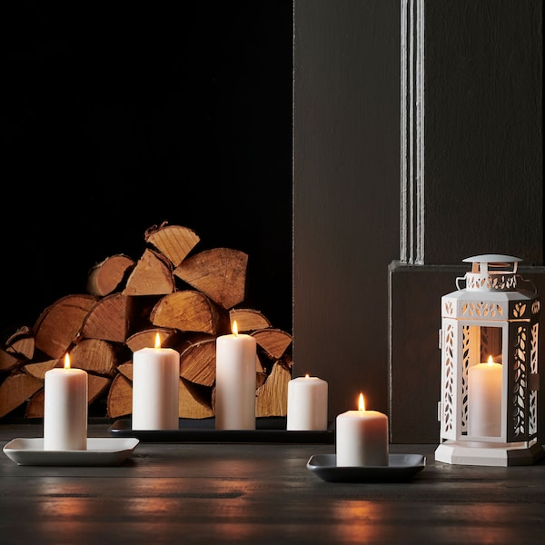 IKEA Family seasonal savings on selected candles. FENOMEN candles set