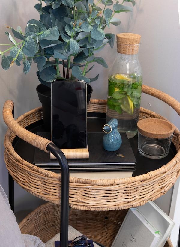 IKEA FEJKA نبات صناعي في آنية