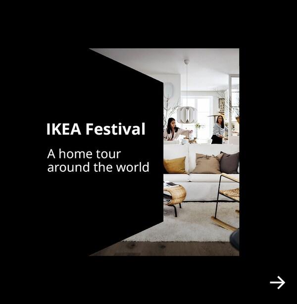 IKEA Festival. A home tour around the world.