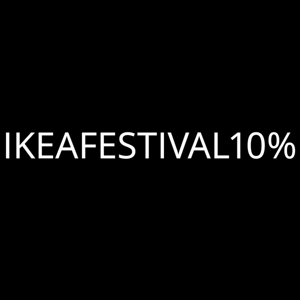 IKEA FESTIVAL discount code
