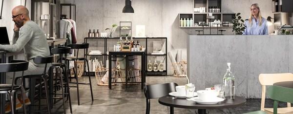 IKEA for Business kantoor zwart
