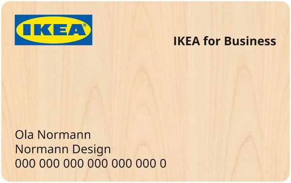 IKEA for Business Mitgliedskarte