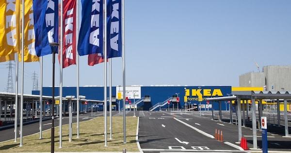 IKEA福岡新宮外観