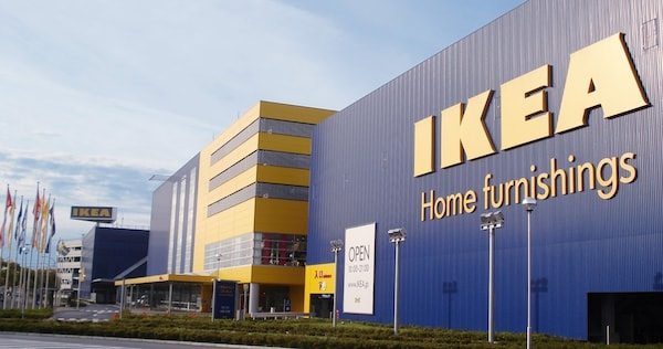 IKEA港北外観