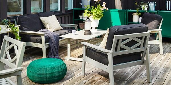 IKEA Gartenmöbel BONDHOLMEN Serie