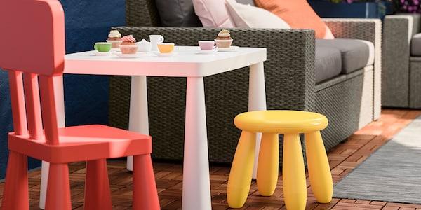 IKEA Gartenmöbel MAMMUT Serie