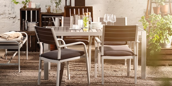 IKEA Gartenmöbel SJÄLLAND Serie