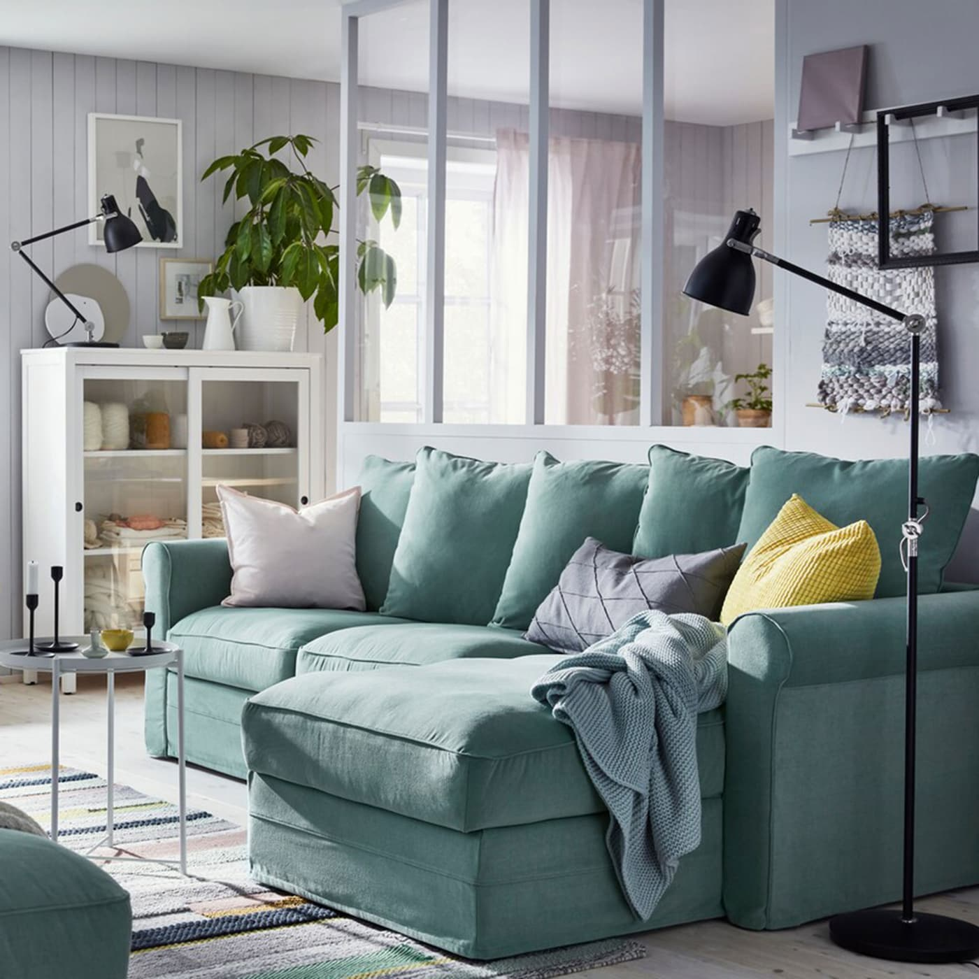 Ikea Living Room Photos serenity in a small living room - ikea