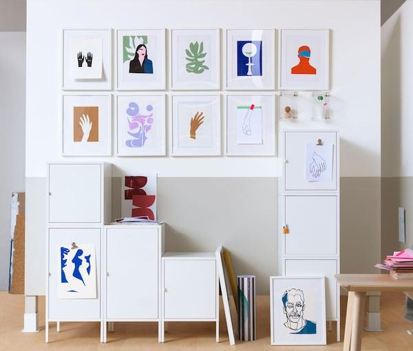 buromobel schrank ikea, büromöbel & arbeitsplatz-aufbewahrung günstig kaufen - ikea, Design ideen