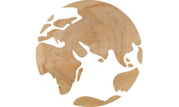 IKEA hankkii puuta 50 eri maasta ympäri maailman.
