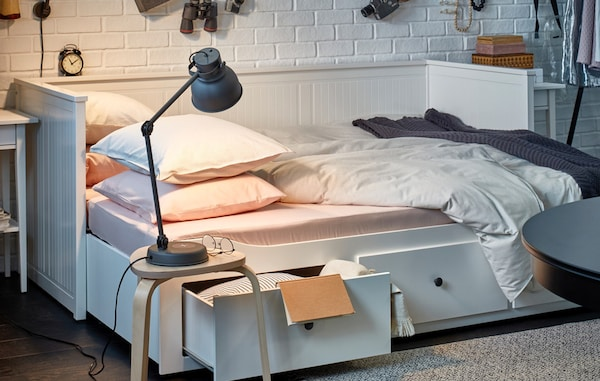IKEA HEMNES day-bed with three drawers