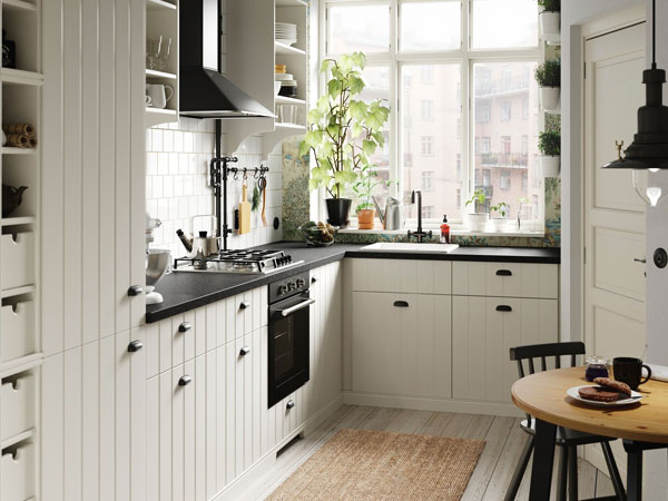 Cosy cottage kitchen in the big city IKEA