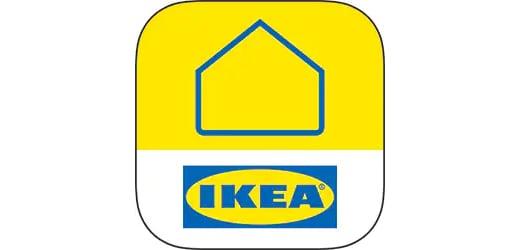 IKEA Home smart アプリのためのIKEA Home smartのロゴ。