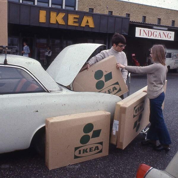 IKEA i Ballerup 1969