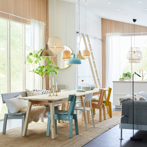 Ikea Houten Keukenstoelen.Handgemaakt Design Aan Tafel Ikea