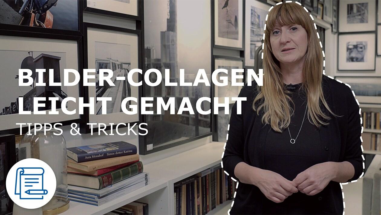 IKEA Interior Designerin Sandra gibt Tipps zur Erstellung von Bilder-Collagen, Bilderwänden und Bilderboards.