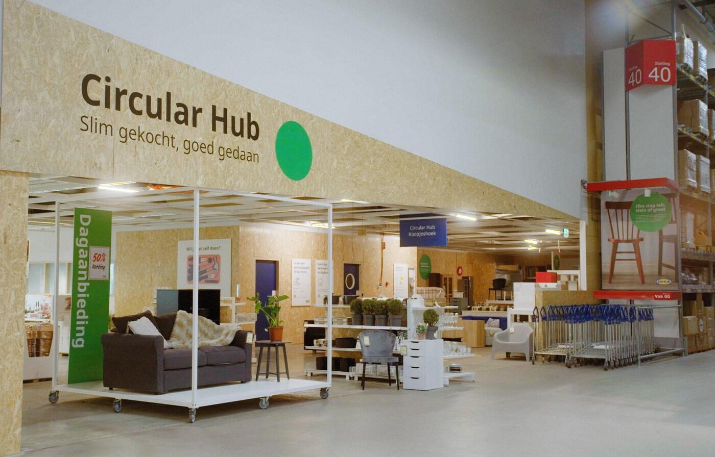 IKEA introduceert samen met lokale kunstenaars de 'Circular Hub'