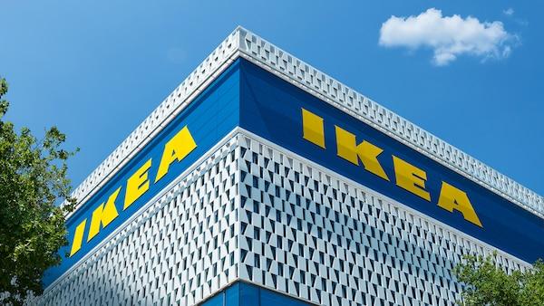 IKEA Karlsuhe Fassade des Einrichtungshauses