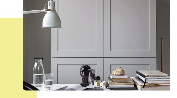 IKEA kast werplek in de woonkamer