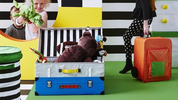 IKEA Kinderzimmer FLYTTBAR Serie