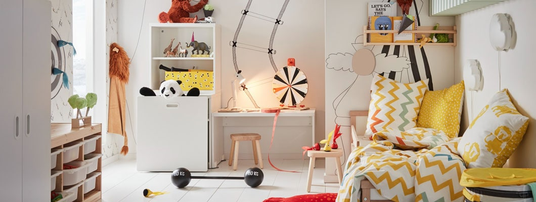 kinderzimmer kinderzimmerm bel online bestellen ikea. Black Bedroom Furniture Sets. Home Design Ideas