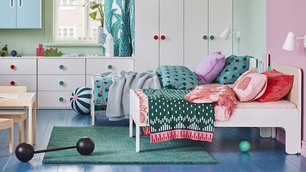 IKEA Kinderzimmer für genug Platz zum Spielen