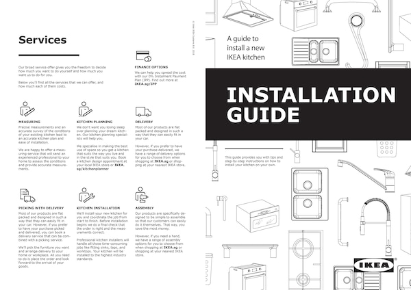IKEA Kitchen Installation Guide
