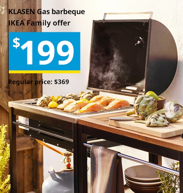 IKEA KLASEN bbq barbeque sale offer