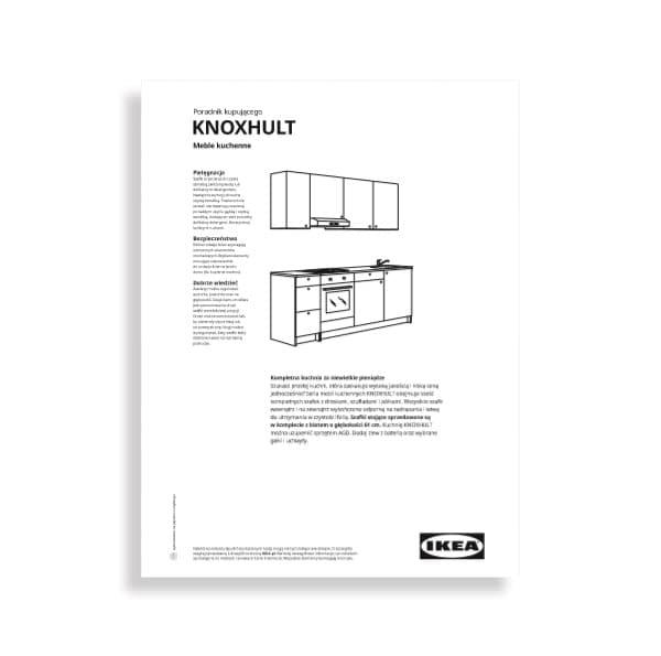 IKEA kuchnie KNOXHULT