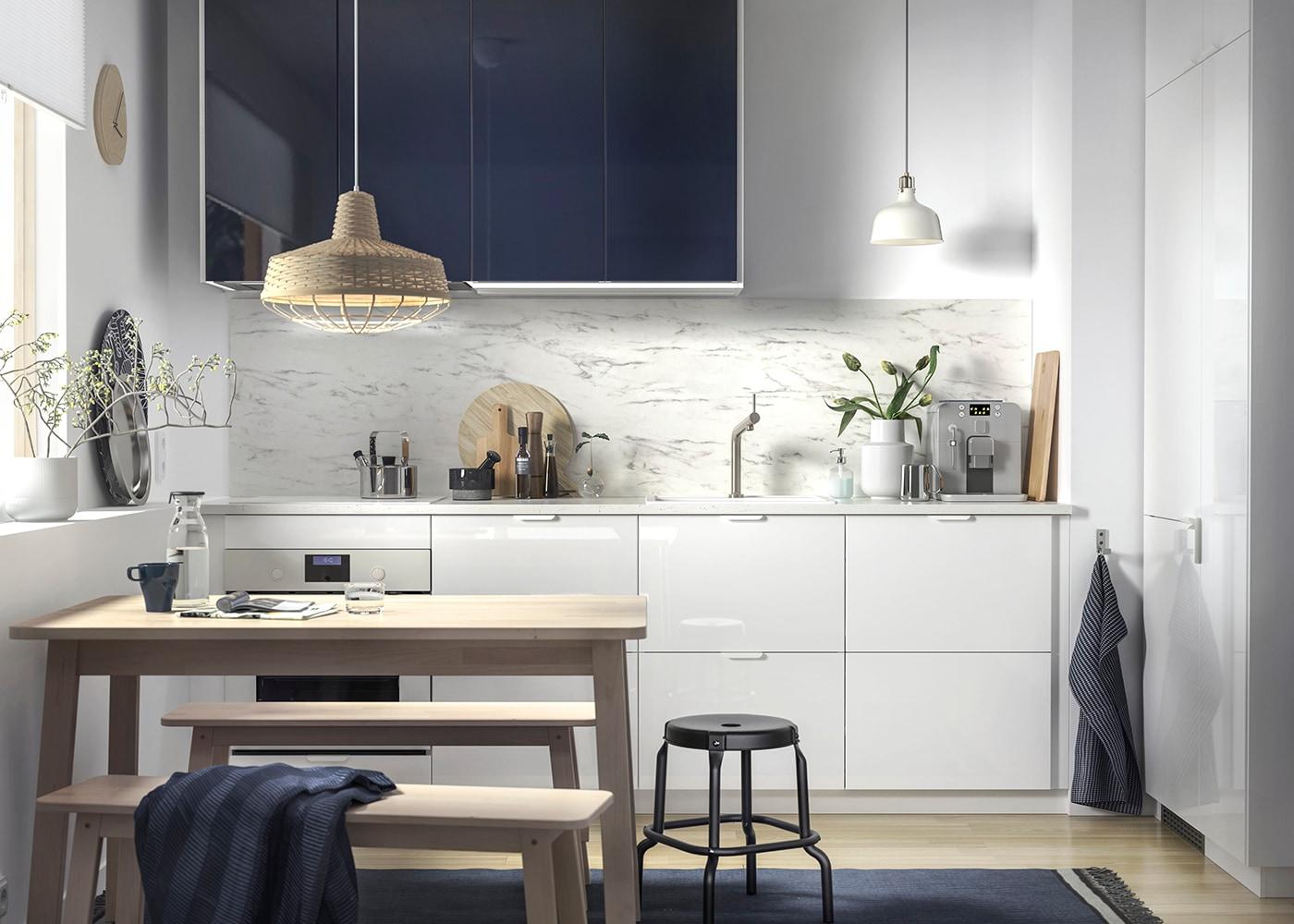 Glänzende & anspruchsvolle Küche - IKEA