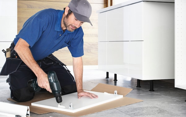 k che planen vom ausmessen bis zum aufbau ikea. Black Bedroom Furniture Sets. Home Design Ideas
