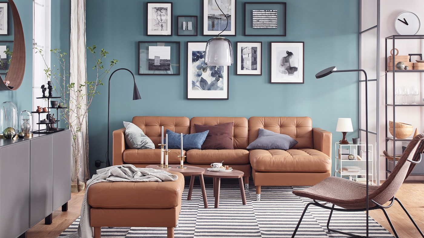 A living room where details make the difference - IKEA Ireland