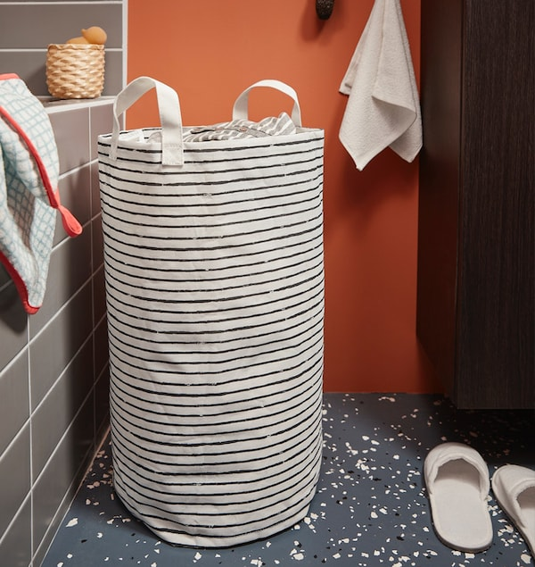 IKEA laundry bags and baskets