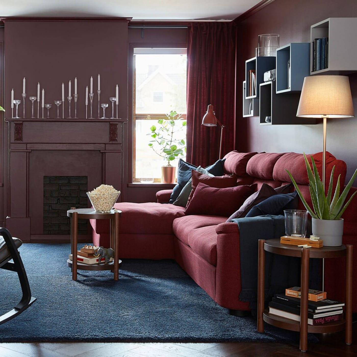 Il soggiorno si colora di rosso - IKEA Svizzera