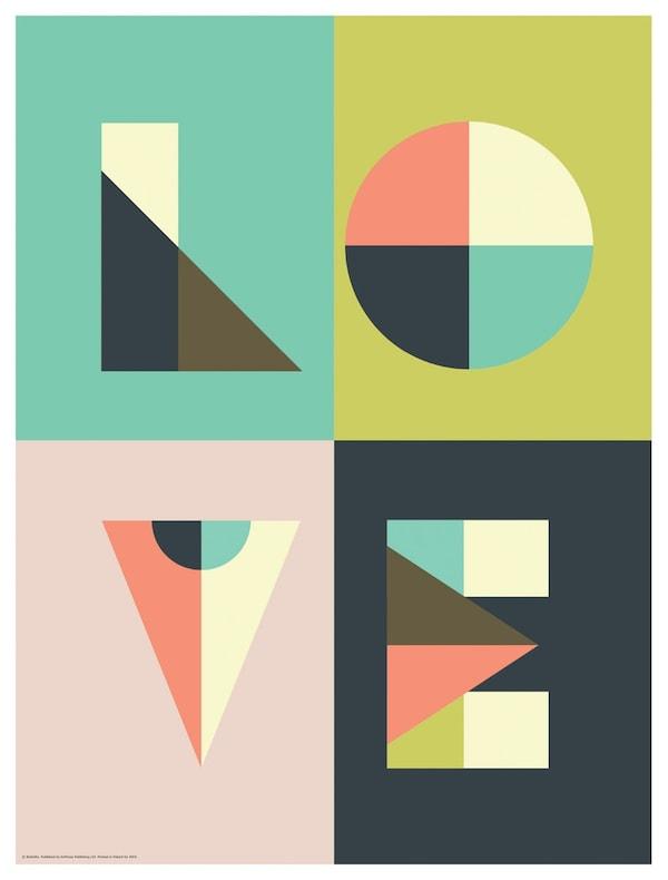 ikea liefde posters
