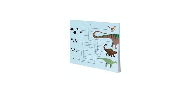 IKEA MALA dinosaur activity book